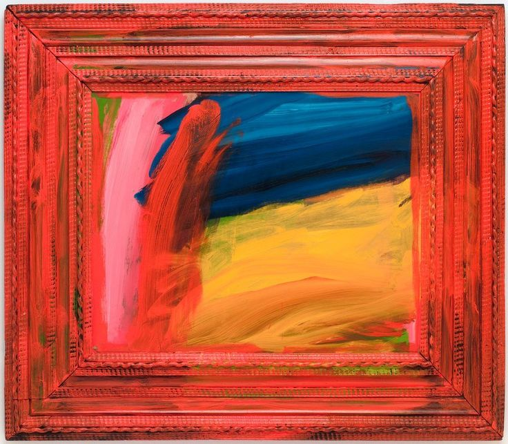 Howard Hodgkin, Going for a Walk with Andrew, 1995/98