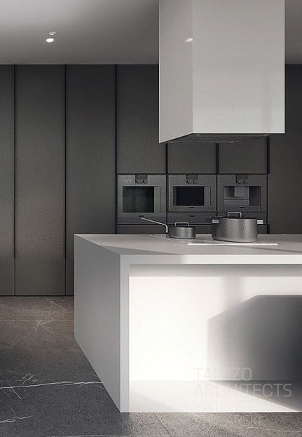 17 beste idee n over kleur keukenkasten op pinterest - Donkergrijs werkblad ...