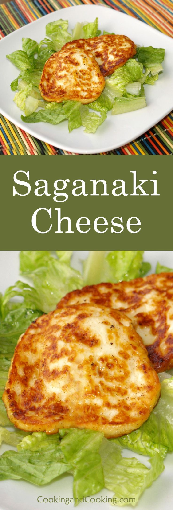 Saganaki Cheese is a simple Greek appetizer, which is made by frying cheese. Saganaki is a tasty recipe for cheese that can be made with any kind of hard cheeses like Halloumi, kasseri and kefalotyri.