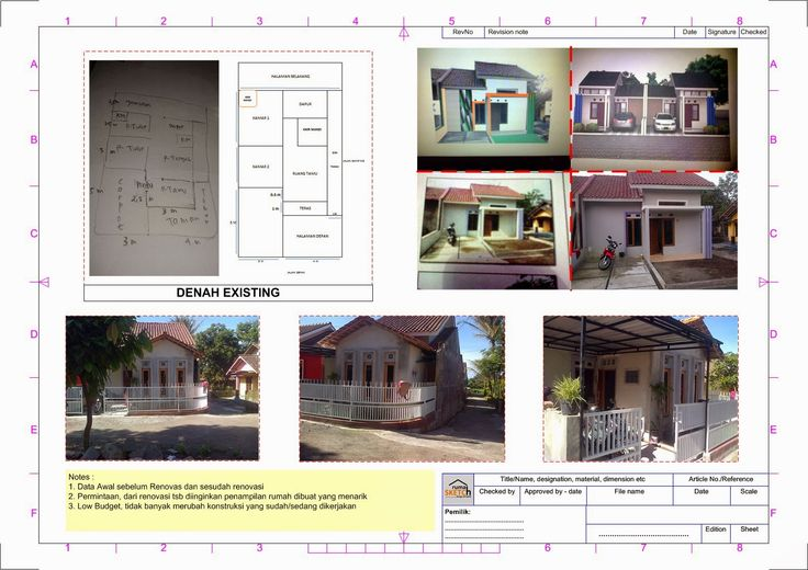 rumahSKETCH.com: Konsultasi : Penambahan Ruang Tamu dan Finishing Penampilan Exterior