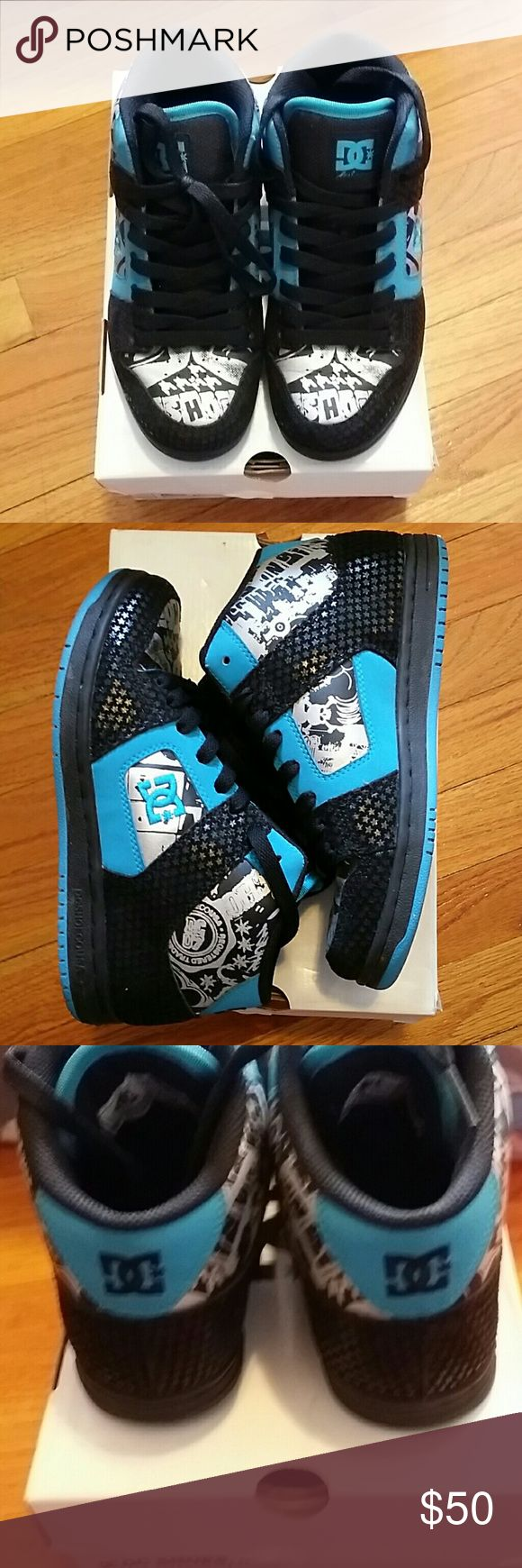 DC sneakers DC sneakers worn once DC Shoes