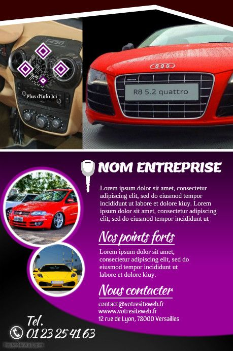 41 best Poster Concession Auto images on Pinterest Posters - car rental agent sample resume