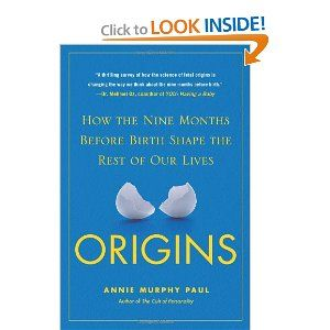 Origins: How the Nine Months Before Birth Shape the Rest of Our Lives