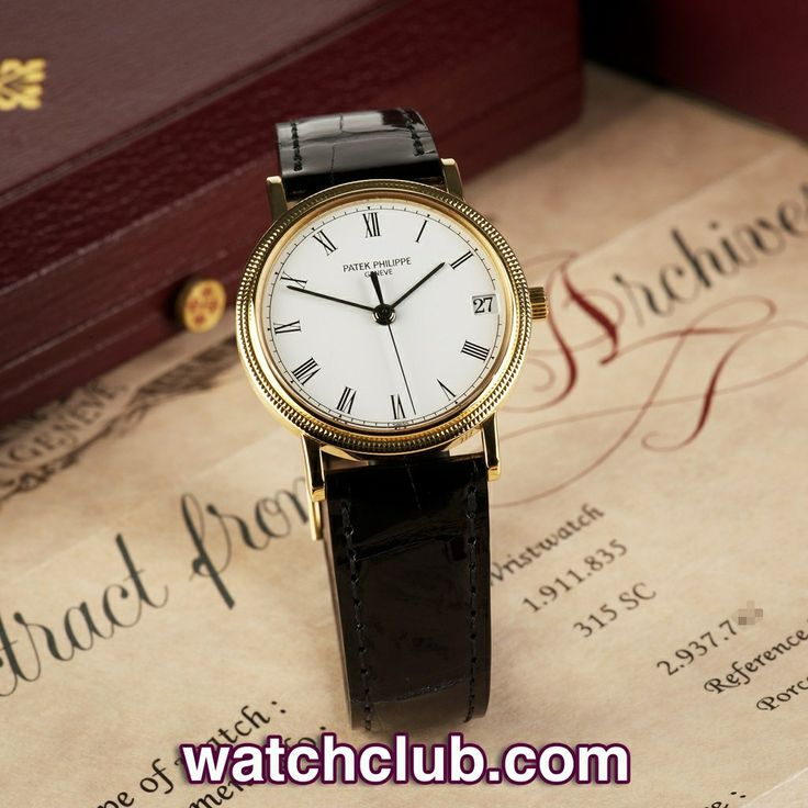 """Patek Philippe Calatrava Automatic - """"Yellow Gold"""" REF: 3802 