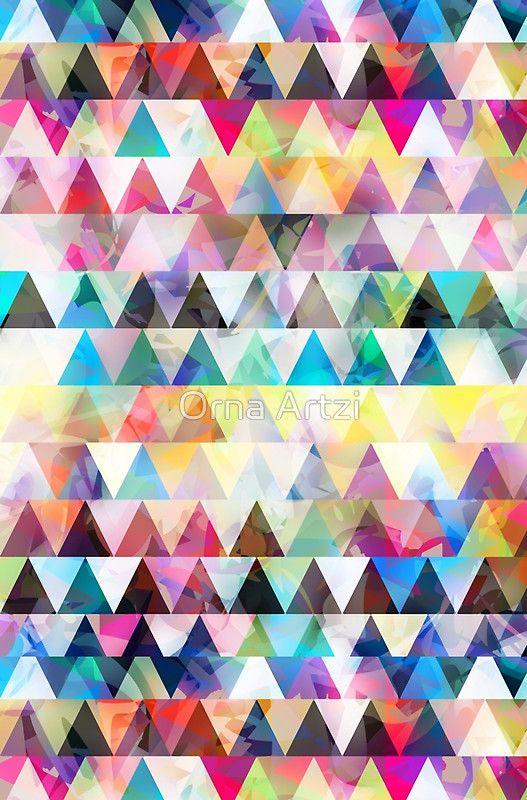 Danny Shemesh: 'Mix #588' Graphic T-Shirt Dress By Orna Artzi Shemesh
