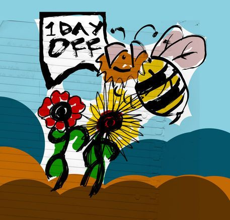 'i day off' by Petros Vasiadis on artflakes.com as poster or art print $21.49