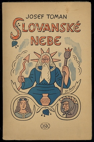 Book cover by Josef Lada, Czechoslovakia