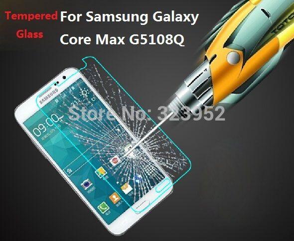 """Лучший продукт из Китая - купить """"пленка экрана 9h для Samsung Galaxy ядро Макс G5108Q закаленное стекло-экран протектор Анти-Скреста пузыря-бесплатная 10шт Бесплатная доставка"""" всего за 38.43 долларов США."""