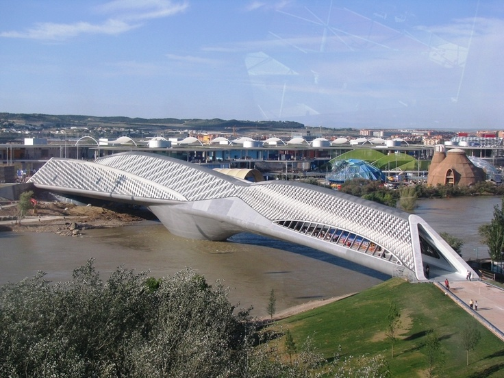 The Bridge Pavilion Pabellon Puente Architect Zaha Hadid Location Zaragoza Spain Completion Date 2008 Program 2 For 1 And An Exibition