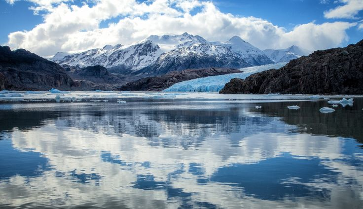 Photograph Glacier and mirror by Martine Guay on 500px