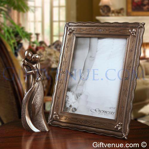 Genesis Fine Arts Bronze Wedding Gift Set. Gift idea's for wedding couples