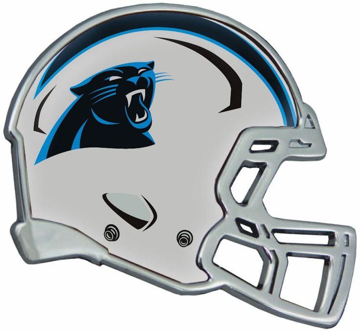 Carolina Panthers Auto Emblem - Helmet