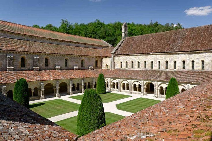 Abbaye de Fontenay - Le cloître