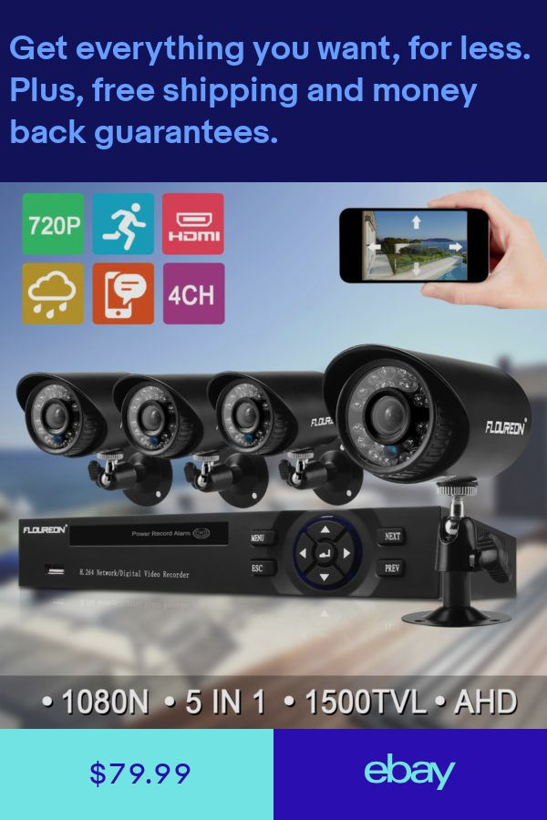 Security System Kit 48CH 48N AHD CCTV DVR Camera 48TVL Outdoor Best Exterior Cameras Home Security Minimalist Collection