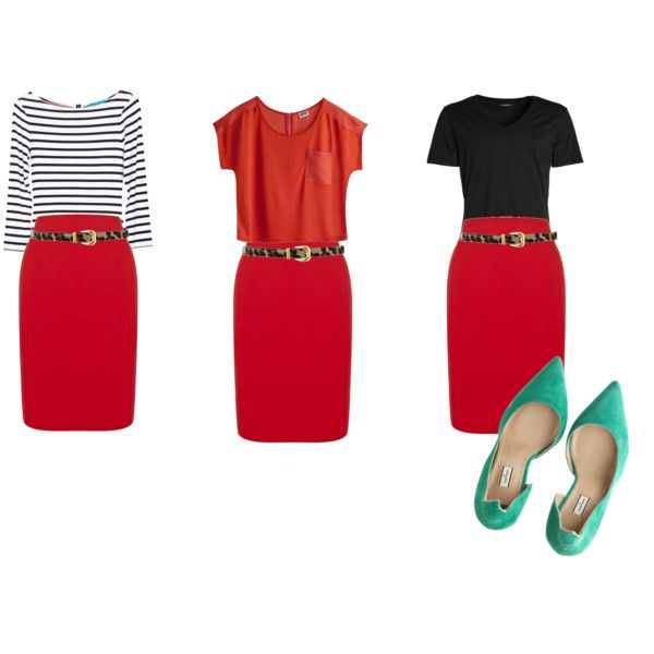 You Can Wear Red And Orange Together Good News For My Skirt Shirt What To Do With Stuff I Already Have Skirts Fashion