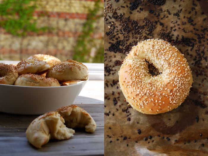 Sesame Seed Weekend Bagels