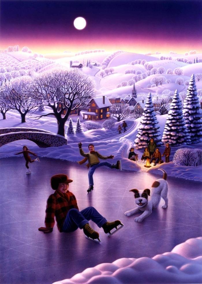 Зимняя сказка от Robin Moline..... Обсуждение на LiveInternet - Российский Сервис Онлайн-Дневников