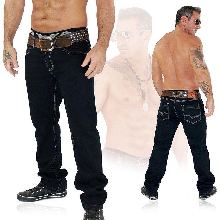 BIG MESSI Herren Clubwear Jeans Hose Vintage Kosmo Japan Style Top Design 7038 | eBay