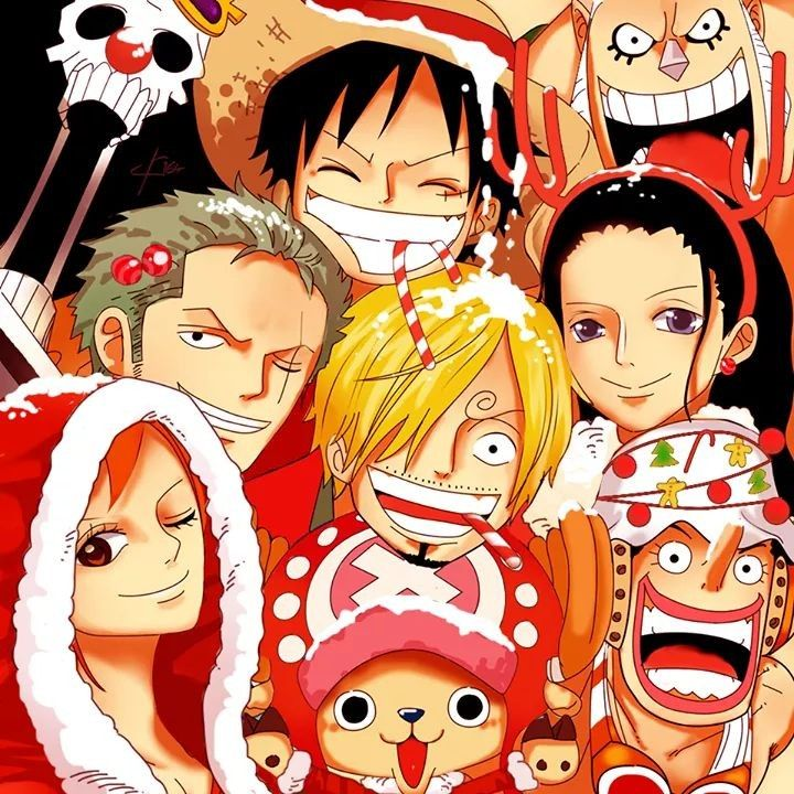 Merry Christmas Manga Anime One Piece One Piece Drawing One Piece Manga