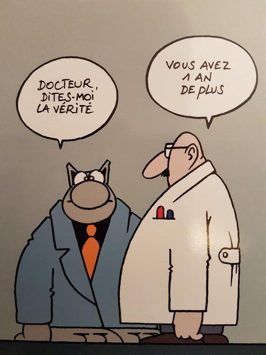 Humour le chat de Geluck: Le médecin et la vérité