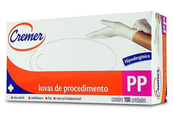 LUVAS DE PROCEDIMENTO PP C/100 UN CREMER