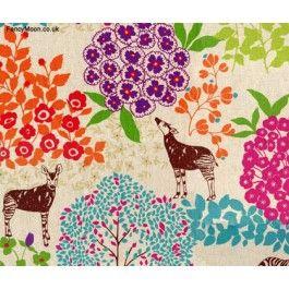 Bond, Echino Etsuko Furuya, Kokka Designer Fabric