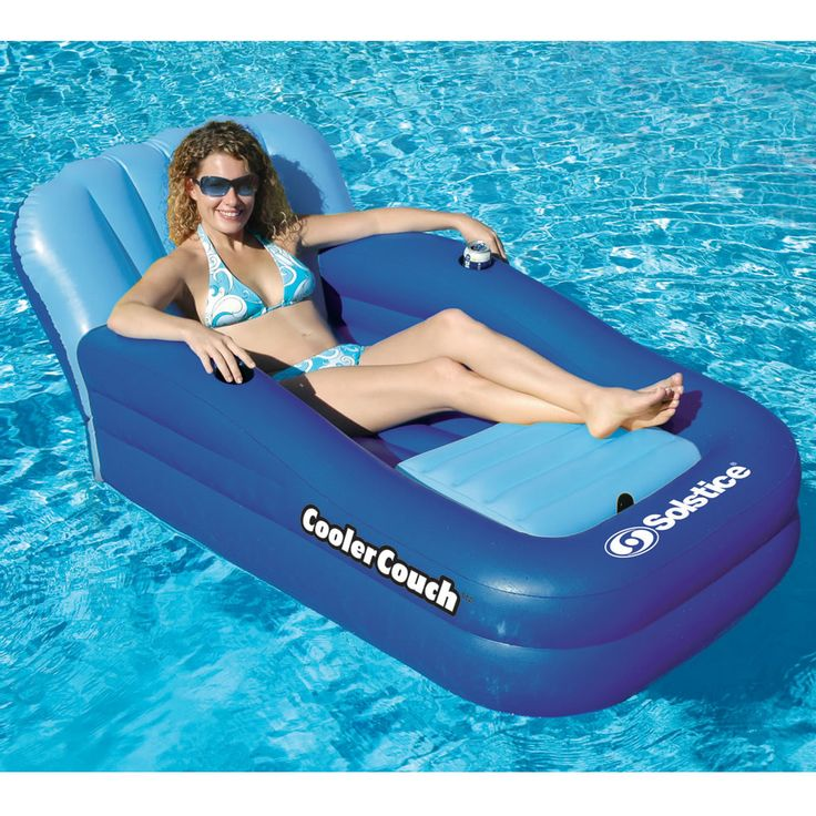 The Floating Couch And Cooler - Hammacher Schlemmer