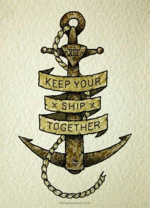Keep your ship together                                                                                                                                                                                 Mais