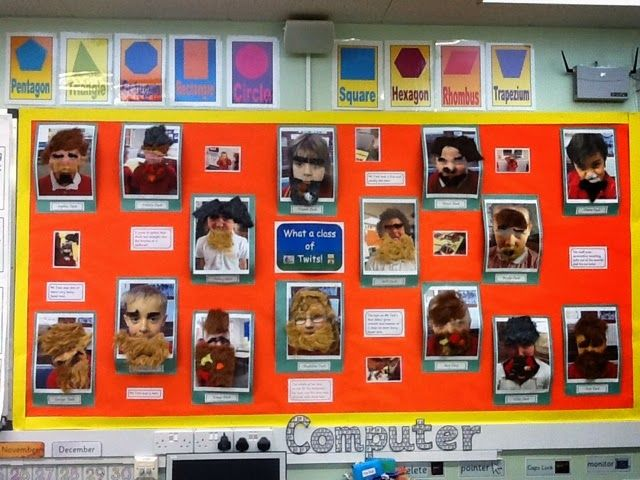 The Wrens have begun sharing Roald Dahl's The Twits story.     In order to become Mr Twit, they took photos of themselves using the iPads......