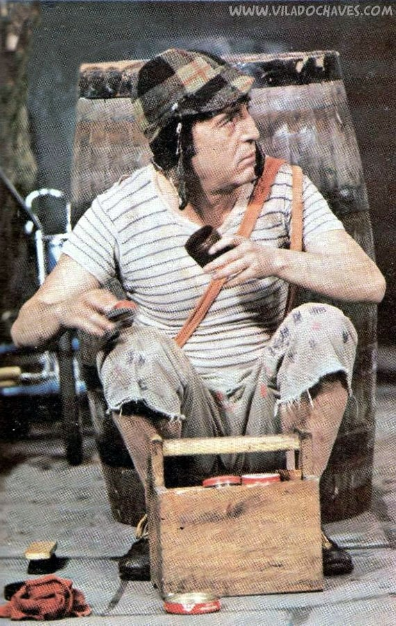 Chaves engraxate.