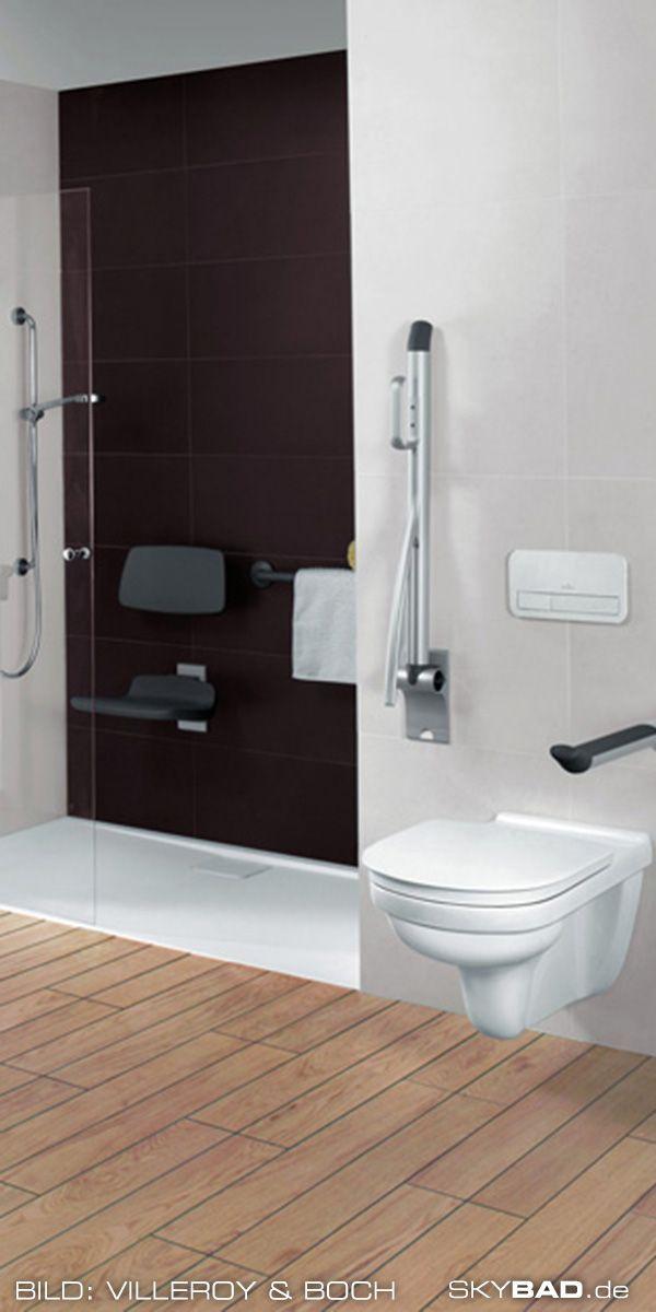 Eine Zentrale Rolle Bei Der Gestaltung Und Einrichtung Eines Barrierefreien Badezimmers Spielt Das Beh Barrierefrei Bad Bad Einrichten Behindertengerechtes Bad