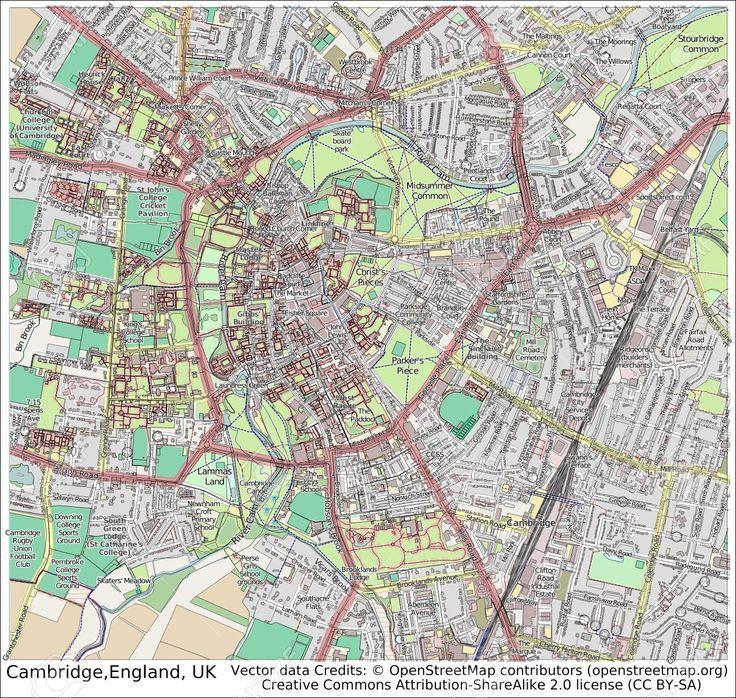 Mapa de Cambridge