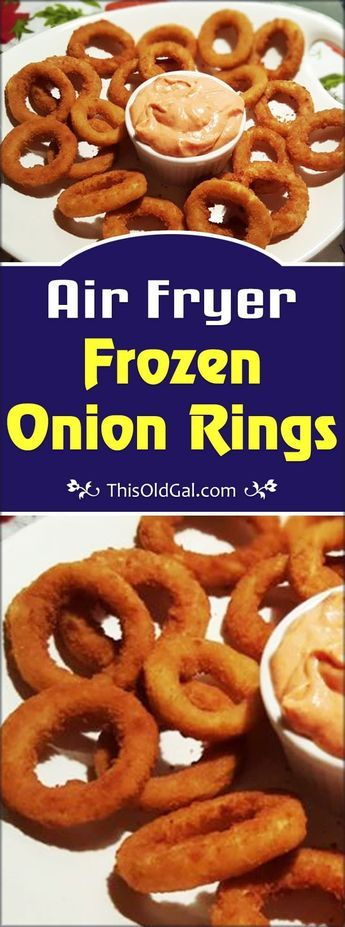 Preparing Air Fryer Frozen Onion Rings is a great way to get used to your new Air Fryer. In just a few minutes, you can enjoy, hot and crisp Onion Rings. via @thisoldgalcooks