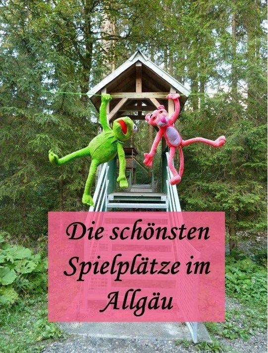 Die schönsten Spielplätze im Allgäu - mit Beschreibung, Fotos und GPS-Daten zum Hinfinden - damit der Urlaub mit Kindern Spaß macht!