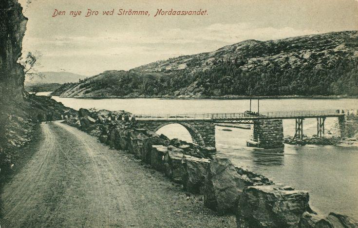 Den nye Bro ved Strömme, Nordaasvandet fra marcus.uib.no
