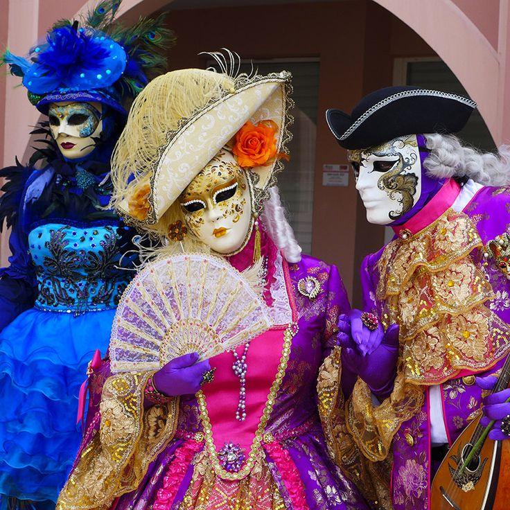 Maschere di lusso a Venezia