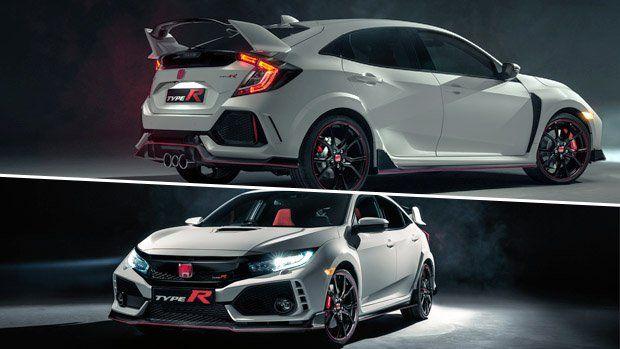 Este é o novo Honda Civic Type R: mais potência, nova suspensão e aerodinâmica para reconquistar Nürburgring