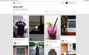 Do-It-Yourself Promoted Pins Premiere on Pinterest