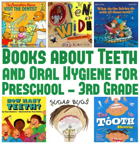 Books about Teeth and Oral Hygiene for Preschool  omg I need something to help me get aiden to brush his teeth better!