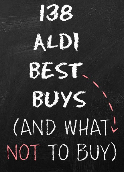 Take the plunge with bargain food supermarket, Aldi with this useful list along with tips and tricks. What to buy in Aldi (and what not to buy).