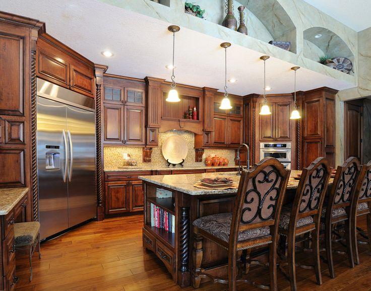 17 Best Ideas About Dark Wood Kitchens On Pinterest Modern Wood House Modern Kitchens And