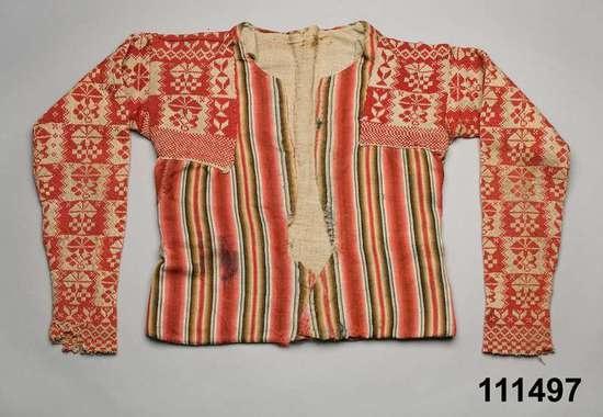 Digitalt Museum - Tröja ursprungligen från ca 1790