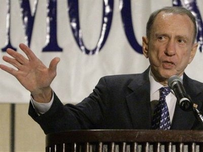 Former U.S. Senator Arlen Specter (of Pennsylvania) died at age 82 from complications from non-Hodgkin's lymphoma on 10/14/12.