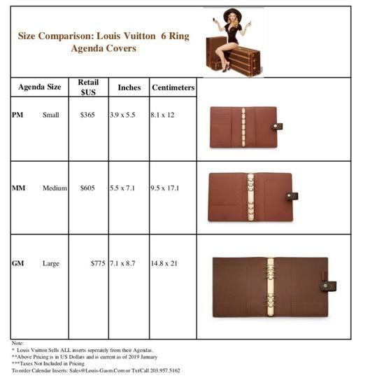 Filofax Fits Louis Vuitton Large Gm Agenda And Montblanc Planner 2019 Calendar Refill Paper 60 Off Retail In 2020 Louis Vuitton Planner Louis Vuitton Agenda Louis Vuitton
