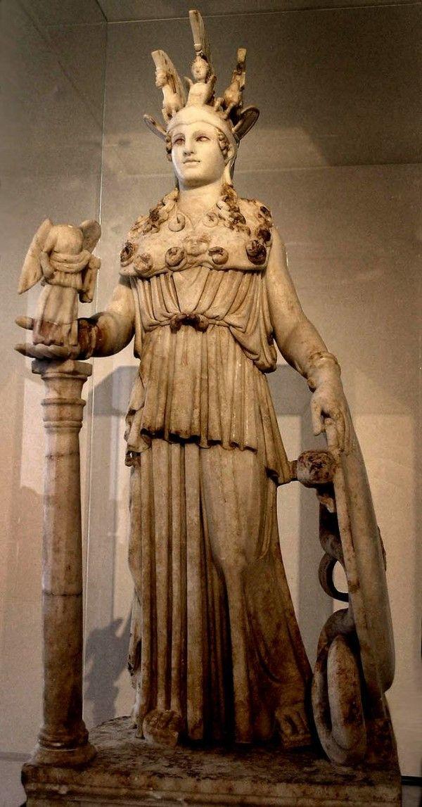 Малышом, картинки статуя афины