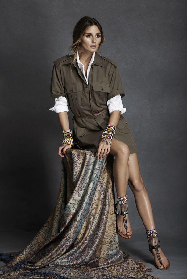 Olivia Palermo, masais, Pikolinos, zapatos, bolsos, complementos, África, proyecto, solidaridad, colaboración, tribu, Kenia, Tanzania