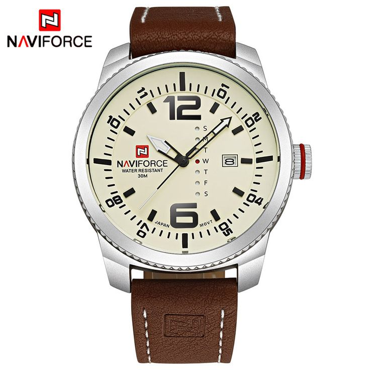 2017 Top Luxury Brand NAVIFORCE Men Military Sports Watches Men's Quartz Date Clock Man Leather Wrist Watch Relogio Masculino     Tag a friend who would love this!     FREE Shipping Worldwide     Buy one here---> https://shoppingafter.com/products/2017-top-luxury-brand-naviforce-men-military-sports-watches-mens-quartz-date-clock-man-leather-wrist-watch-relogio-masculino/