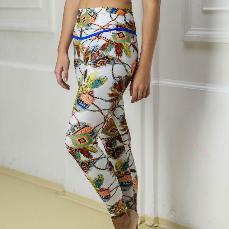 Siluet Yoga Wear   Leggings INDIANS  #siluetyogawear #madewithloveforyou