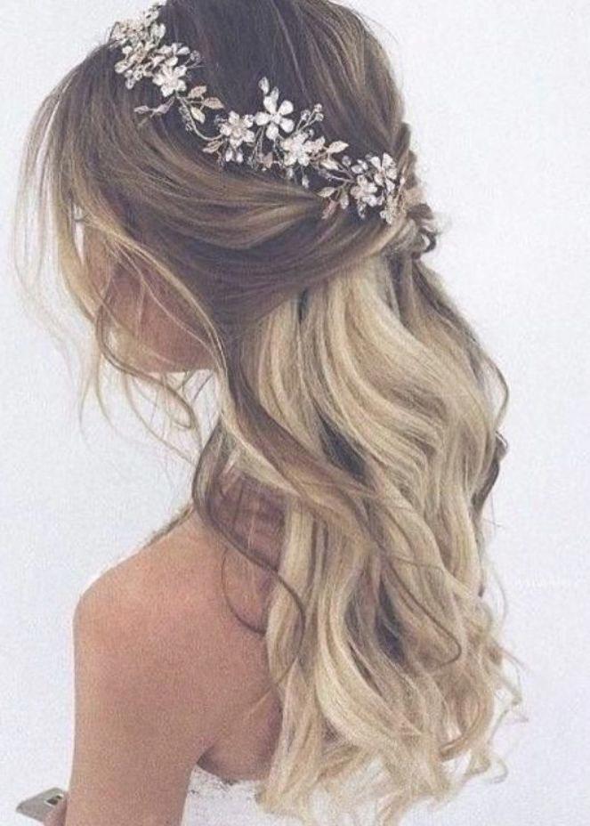 Read Information On Bride Hairstyles Weddinghairstylesforlonghair In 2020 Bruiloft Hoofdband Bruid Hoofdband Bruid Haar