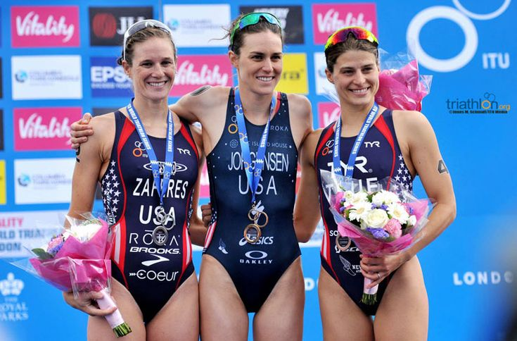 US women sweep World Triathlon London . www.time-to-tri.com